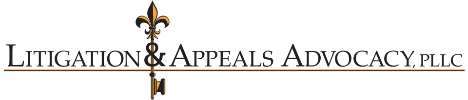 Litigation And Appeals Advocacy, PLLC.